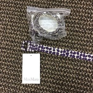 'S Max Mara Purple Velia Belt